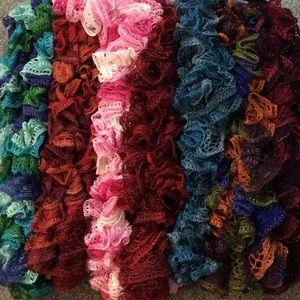Brand New, Never Worn Handmade Crochet Scarves!